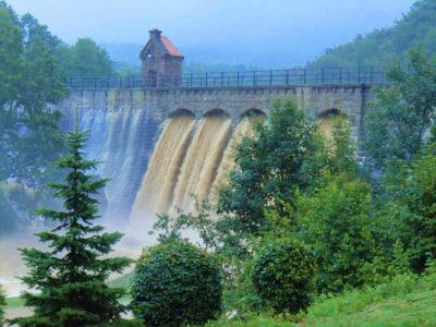 výpůsť přehrady